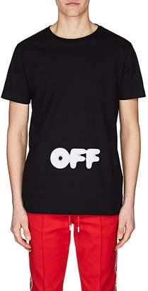 Off-White Men's Cotton Jersey T-Shirt