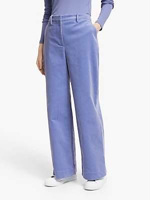 John Lewis & Partners Cord Wide Leg Trousers