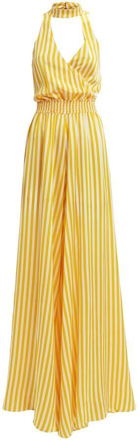 Lia Striped Jumpsuit
