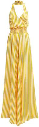 Caroline Constas Lia Striped Jumpsuit