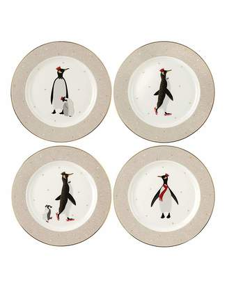 Fashion World Sara Miller Penguin Cake Plates