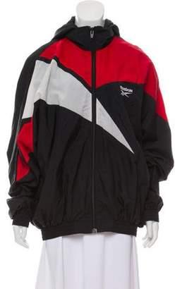 Vetements x Reebok 2017 Hooded Oversize Jacket
