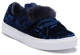 Hoo Bunny Ear Faux Fur Trimmed Sneaker (Toddler, Little Kid & Big Kid)