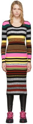Kenzo Multicolor Striped Dress