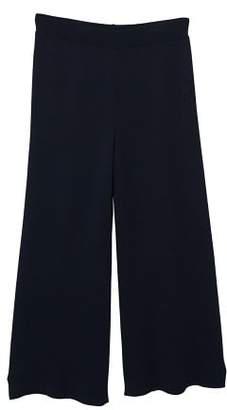 MANGO High-waist ponte trousers