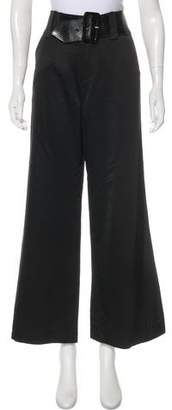 Alice + Olivia Wide-Leg High-Waisted Pants