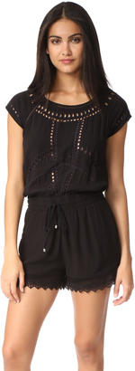 Ella Moss Broderie Anglaise Romper $258 thestylecure.com