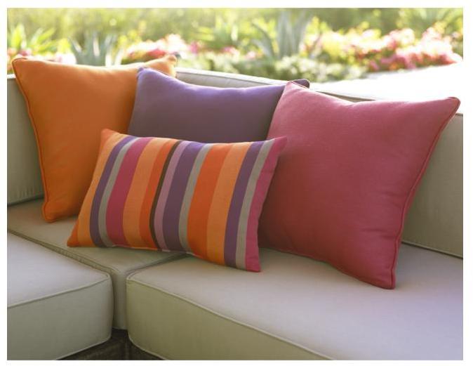 Ventura Stripe Indoor-Outdoor Pillow