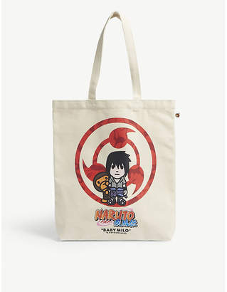 A Bathing Ape Sasuke canvas tote