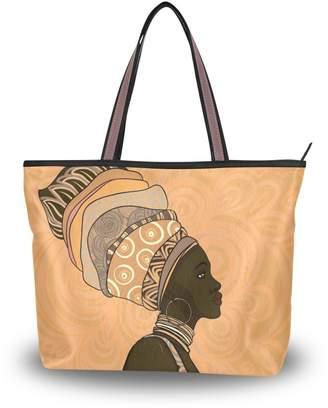 DAY Birger et Mikkelsen Imobaby African American Girls Shoulder Tote Bag Handbag Shopping Bags Valentine's Gift For Her,Multi153