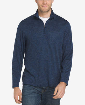 Izod Men's Advantage Performance Stretch Quarter-Zip Sweater Knit