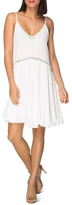 Bobeau B Collection by Betty Sleeveless Embroidered Dress