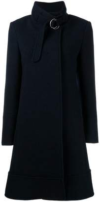 Chloé belted stand-up collar coat