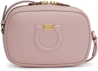 Salvatore Ferragamo Gancio City light pink cross body bag