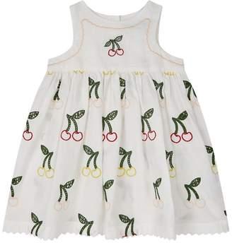 Stella McCartney EmbroideredCherry Dress