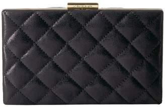 Calvin Klein Evening Distressed Quilted Clutch Clutch Handbags