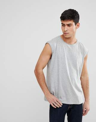 Brave Soul Raw Edge Sleeveless Tank