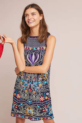 Maeve Kira Embroidered Tunic Dress