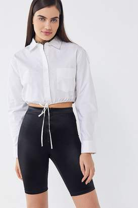 Urban Outfitters Zip Fly Bike Short