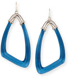 Alexis Bittar Asymmetric Lucite Drop Earrings $175 thestylecure.com