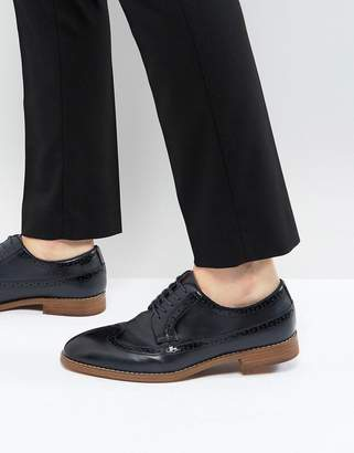 Call it SPRING Uniessi Brogue Shoes In Navy