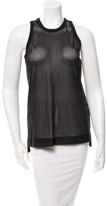 Helmut Lang Perforated Sleeveless Top w/ Tags