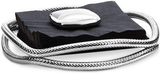Nambe Braid Cocktail Napkin Holder