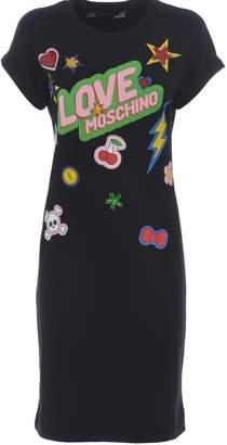 Love Moschino Printed Design Dress