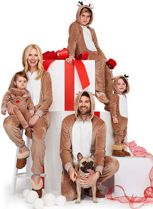 North Pole Trading Co. One Piece Reindeer Family Pajamas-Women's