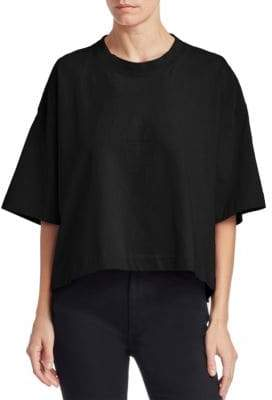 Acne Studios Oversized Cropped Tee