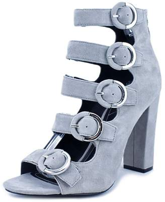 KENDALL + KYLIE Evie Women US 9.5 Gray Sandals