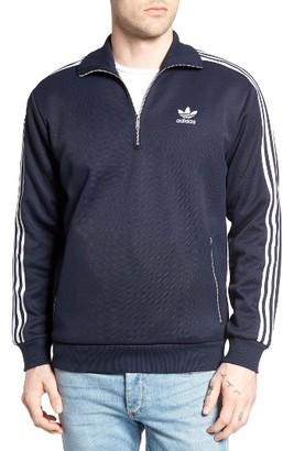 Men's Adidas Originals Half Zip Track Jacket $80 thestylecure.com
