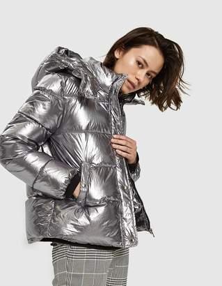 Stelen Stella Puffer Coat in Silver
