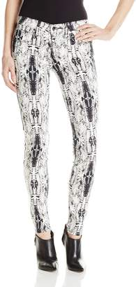 Genetic Los Angeles Women's Shya Low Rise Skinny Jean Print