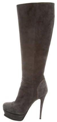 Saint LaurentYves Saint Laurent Tribute Knee-High Boots