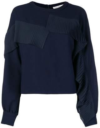 Golden Goose fringed sweatshirt blouse