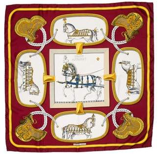 Hermes Projects Carres Silk Scarf