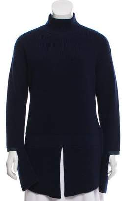 Stella McCartney Mock Neck Wool Sweater