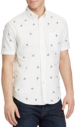 Polo Ralph Lauren Anchor Embroidered Classic Fit Button-Down Shirt $98.50 thestylecure.com