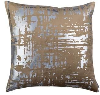 LILI ALESSANDRA Moderne Velvet Foil Accent Pillow
