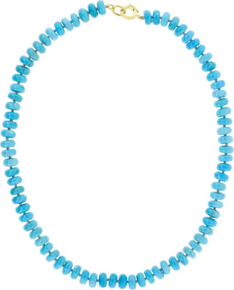 Irene Neuwirth Jewelry Kingman Turquoise Bead Necklace