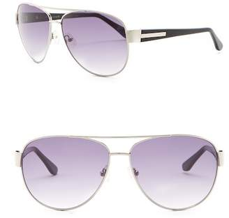 Elie Tahari 61mm Aviator Sunglasses