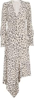 A.L.C. Eden Leopard Zip Front Dress