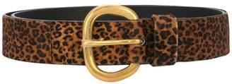 Rachel Comey leopard print belt