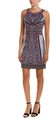 Hale Bob Printed Halter Dress
