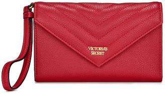 Victoria's Secret Victorias Secret Pebbled V-Quilt Tech Clutch