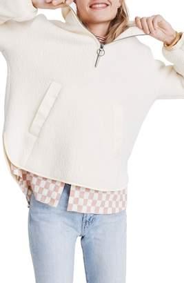 Madewell Polartec(R) Fleece Popover Jacket