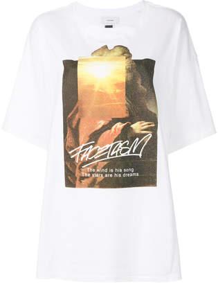 Facetasm graphic printed T-shirt