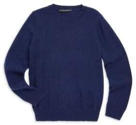 Sofia Cashmere Little Kid's& Kid's Cashmere Crewneck Sweater