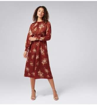 Ever New Shona Shirred Waist Midi Dress